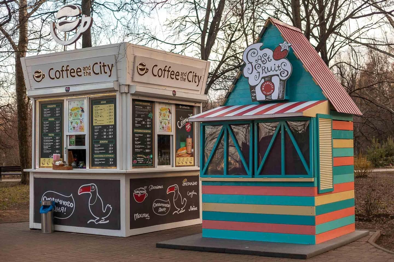 Мороженое «Fast Fruits», Парк «Северное Тушино», Москва — ParkSeason