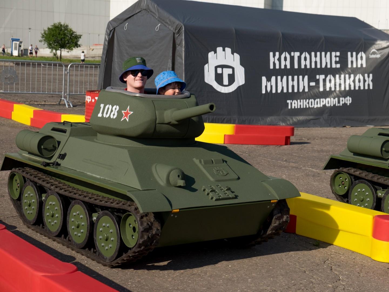 Танкодром в парке «Ходынское поле» — ParkSeason