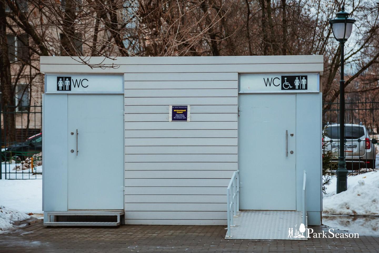 Туалет, Сиреневый сад, Москва — ParkSeason