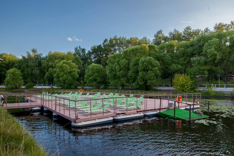 Кафе Poolbar, Парк «Северное Тушино», Москва — ParkSeason