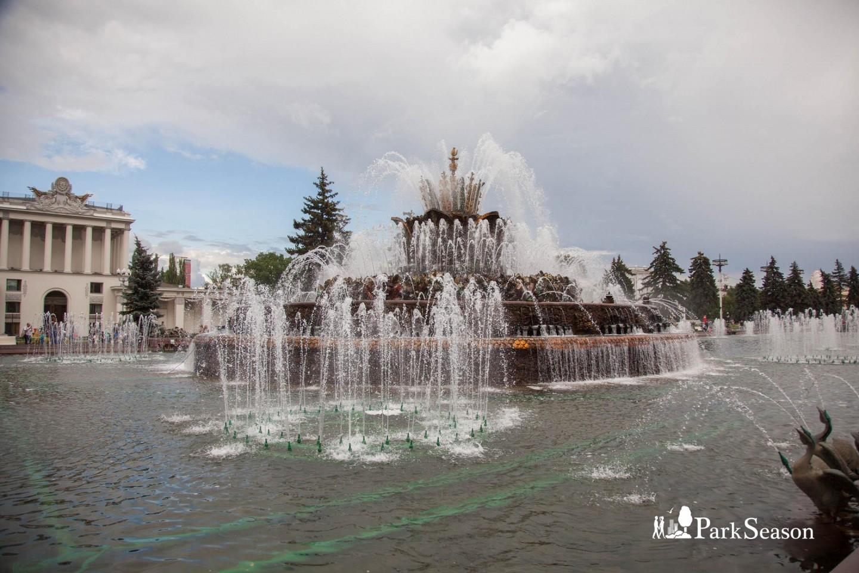 Фонтан «Каменный цветок», ВДНХ, Москва — ParkSeason