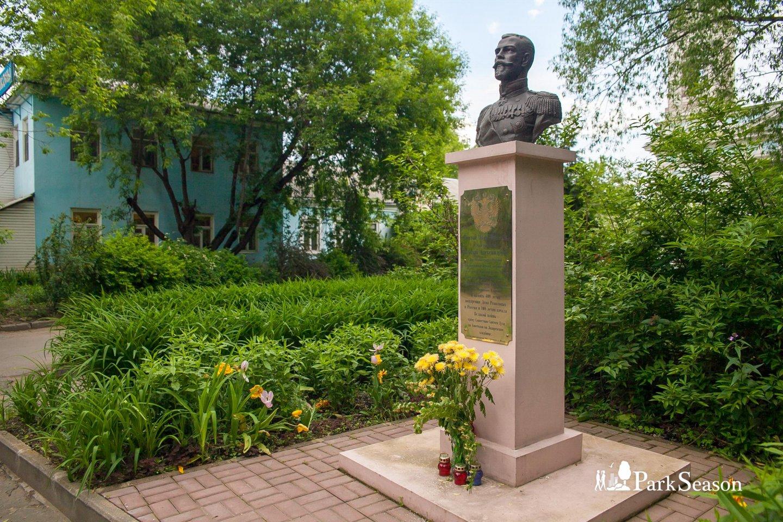 Памятник «Святой Царь-Мученик Страстотерпец Николай Александрович» — ParkSeason