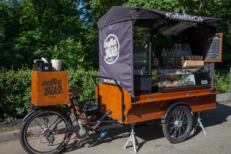 Кафе Coffee Bike, Парк «Сокольники», Москва — ParkSeason