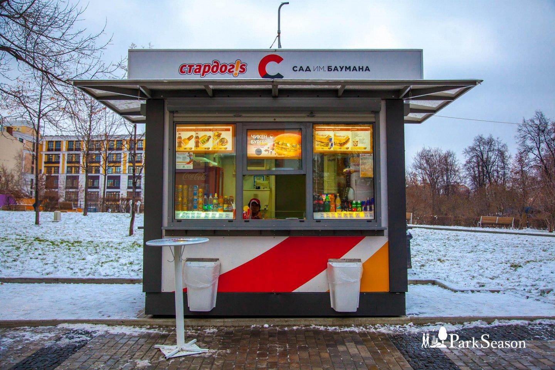Киоск «Стардог!s», Сад им. Баумана, Москва — ParkSeason