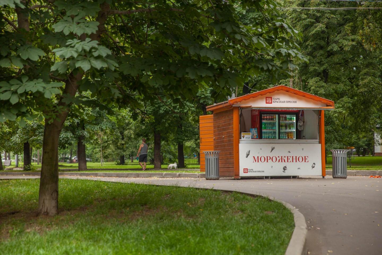 Мороженое, Парк «Красная Пресня», Москва — ParkSeason