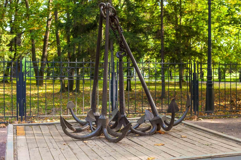 Галерные якоря, Усадьба «Коломенское», Москва — ParkSeason