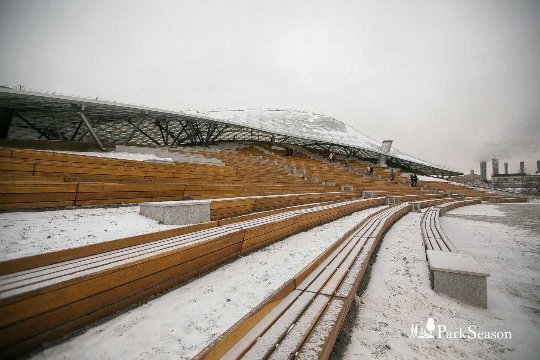 Большой амфитеатр, Парк «Зарядье», Москва — ParkSeason