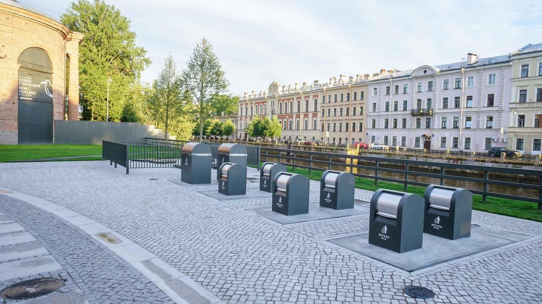 Площадка для раздельного сбора мусора — ParkSeason
