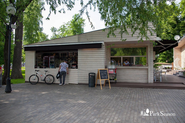 Кафе «Островок», Парк Горького, Москва — ParkSeason