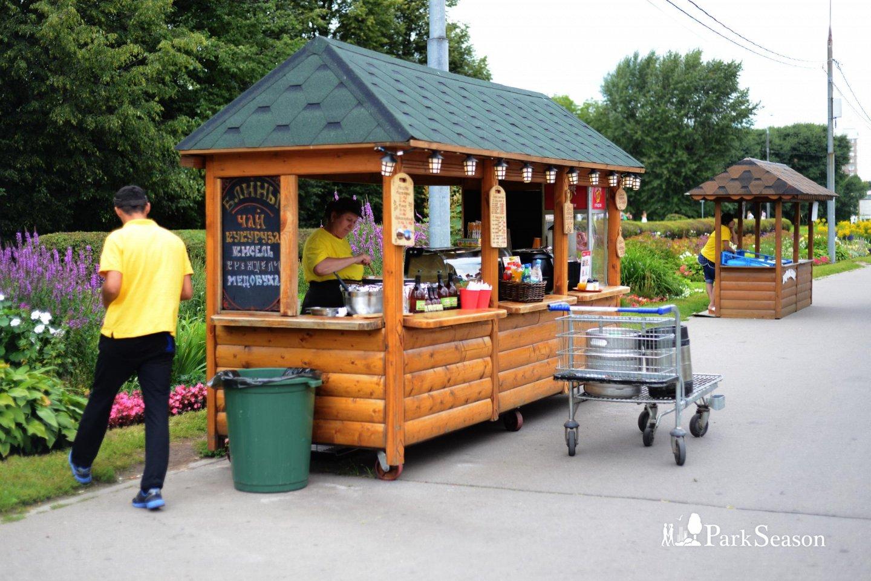 Киоск с уличной едой, Усадьба «Коломенское», Москва — ParkSeason
