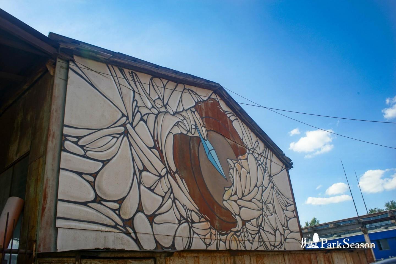 Граффити «Поедатель кристалла» — ParkSeason