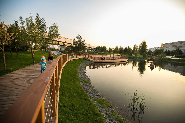 Нижний и Верхний Гавриковские пруды, Детский ландшафтный парк «Южное Бутово», Москва — ParkSeason