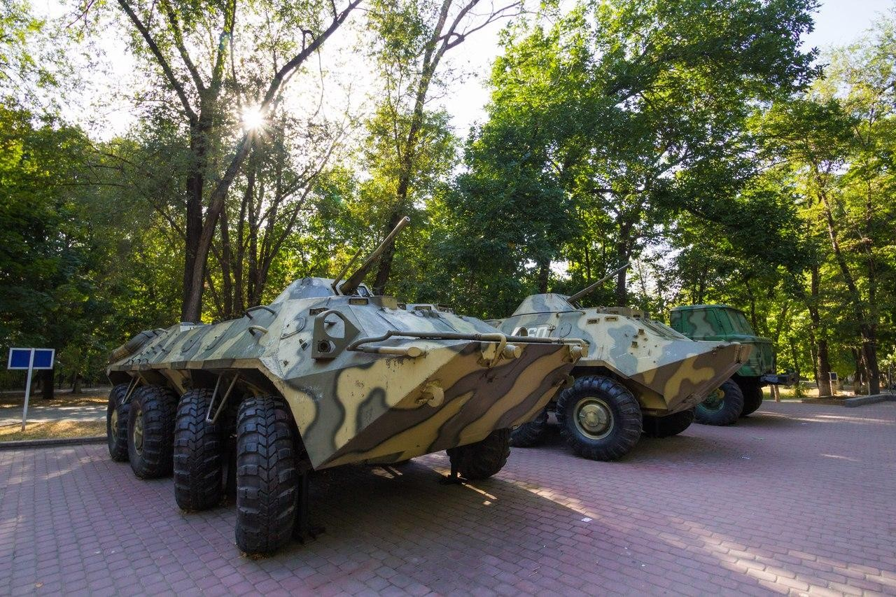 Военная техника — ParkSeason