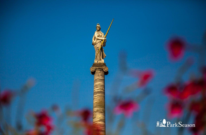 Стела в честь Екатерины Великой, Усадьба Кусково, Москва — ParkSeason