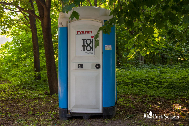 Туалеты, Строгинский парк, Москва — ParkSeason