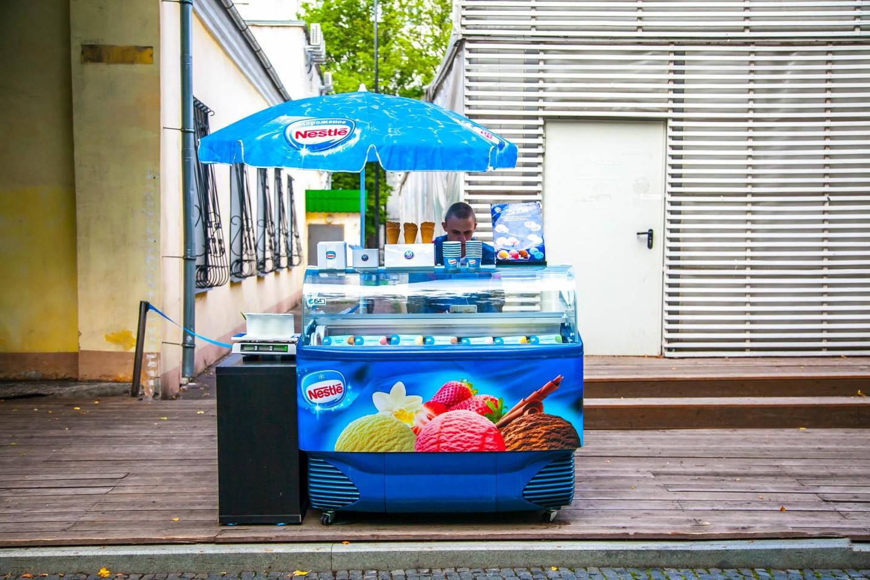 Мороженое, Сад им. Баумана, Москва — ParkSeason