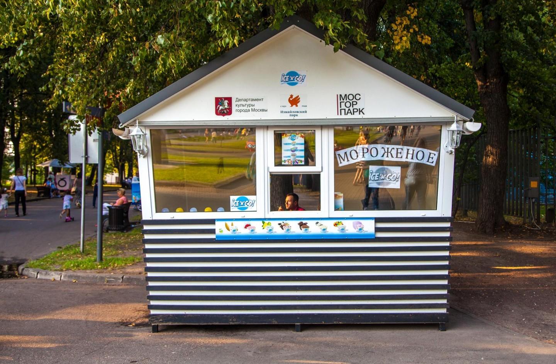 Мороженое Ice'n'go, Парк «Измайловский», Москва — ParkSeason