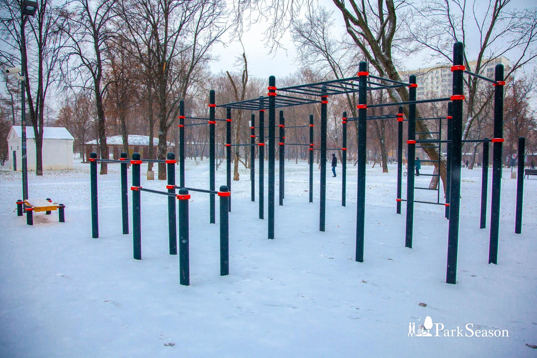 Площадка WorkOut, Гончаровский парк, Москва — ParkSeason