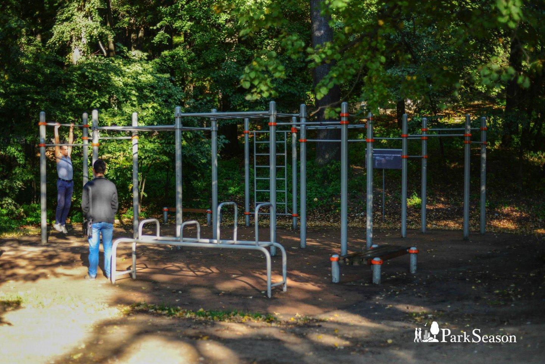 Площадка WorkOut, Парк «Фили», Москва — ParkSeason