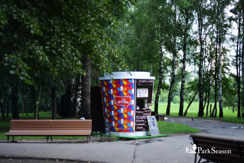 Киоск «Кофе с собой», Парк Дружбы, Москва — ParkSeason