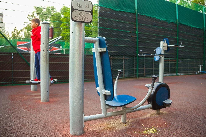 Уличные тренажеры — ParkSeason