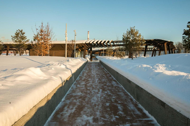 Вход в парк, Парк Тюфелева роща, Москва — ParkSeason