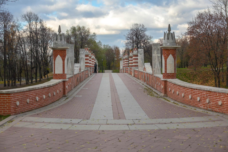 Большой мост через овраг, Музей-заповедник «Царицыно», Москва — ParkSeason