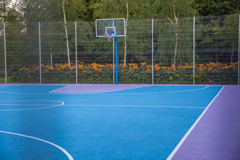 Баскетбольная площадка (Временно закрыта), Парк Олимпийской деревни, Москва — ParkSeason