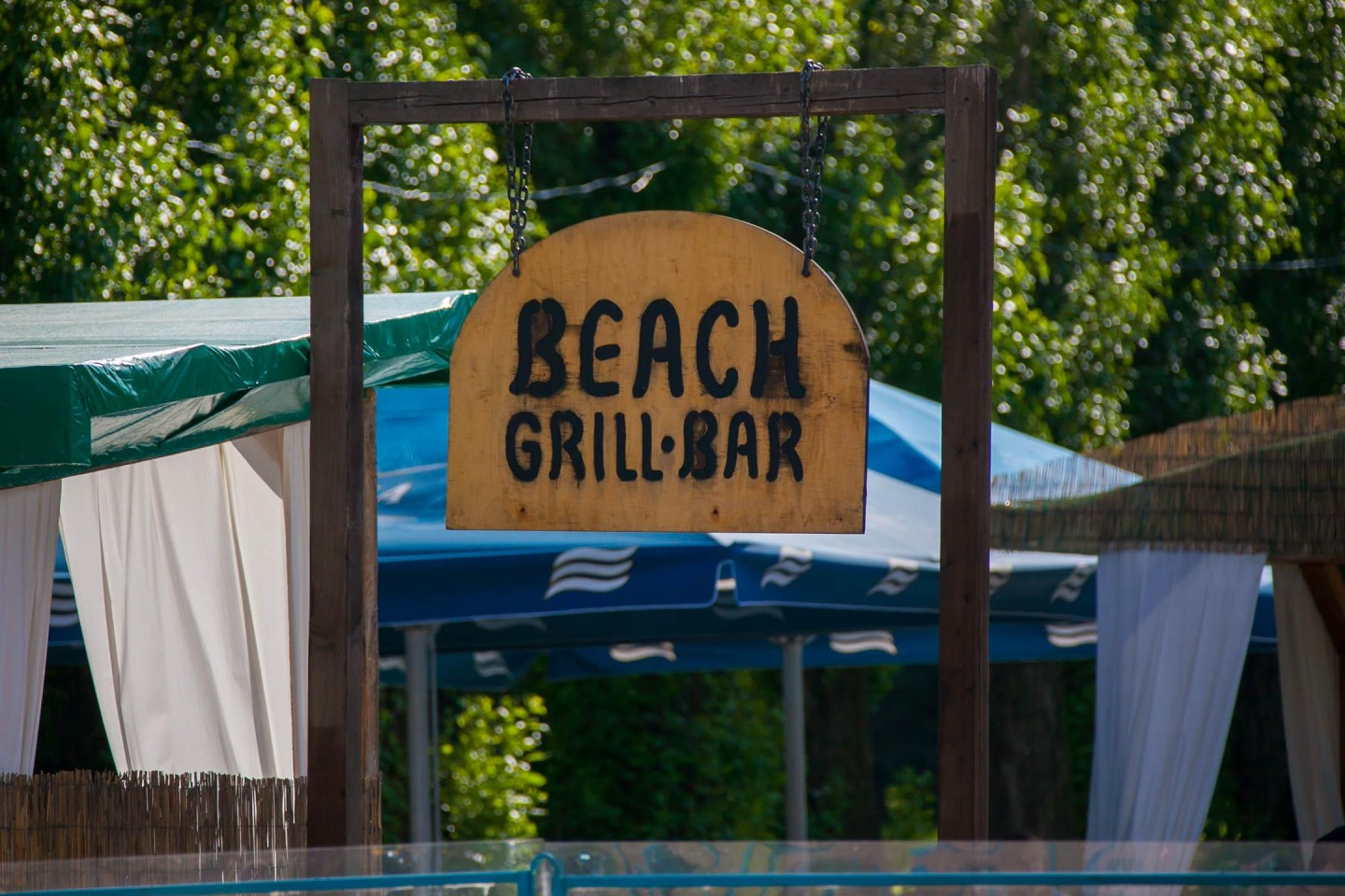 Beach grill bar — ParkSeason