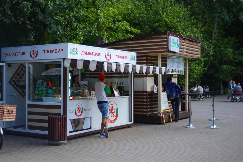 Джелатерия «Пломбир», Парк «Фили», Москва — ParkSeason
