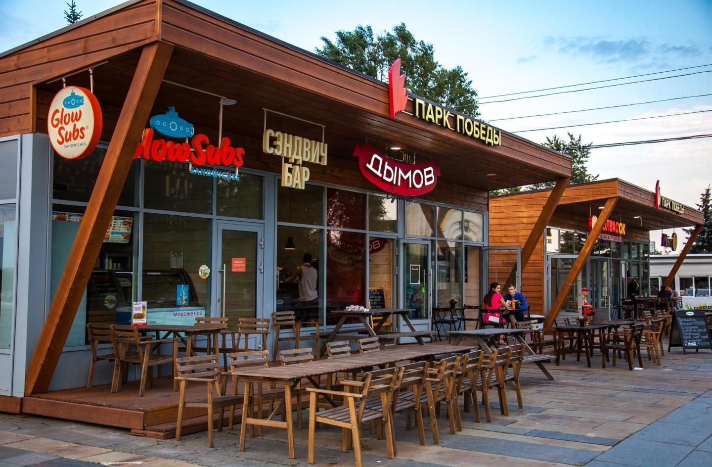 Кафе GlowSubs , Парк Победы на Поклонной горе, Москва — ParkSeason