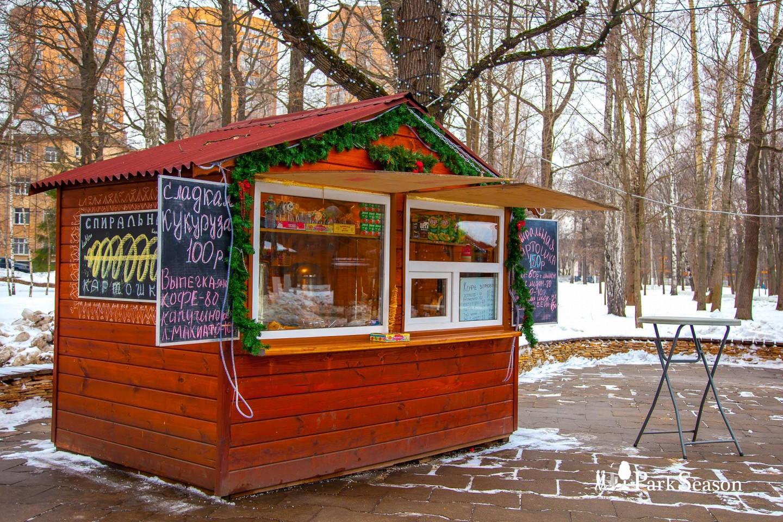 Киоск с пряниками, Парк имени Льва Толстого (Химки), Москва — ParkSeason