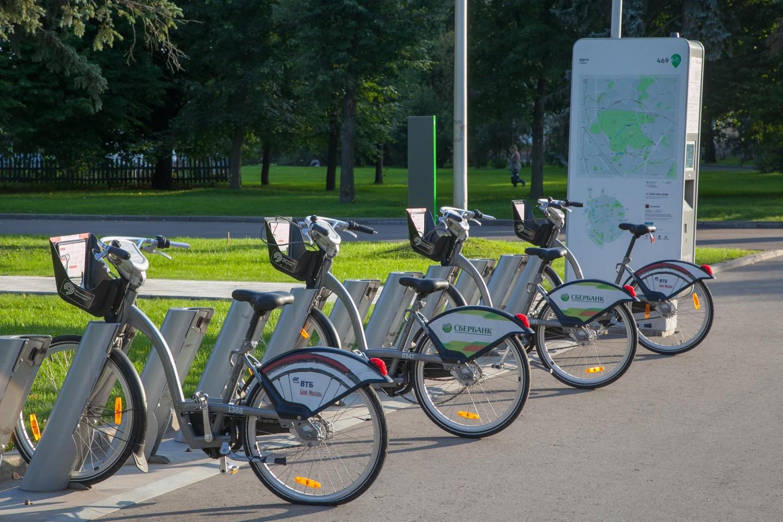 Городской прокат велосипедов, ВДНХ, Москва — ParkSeason