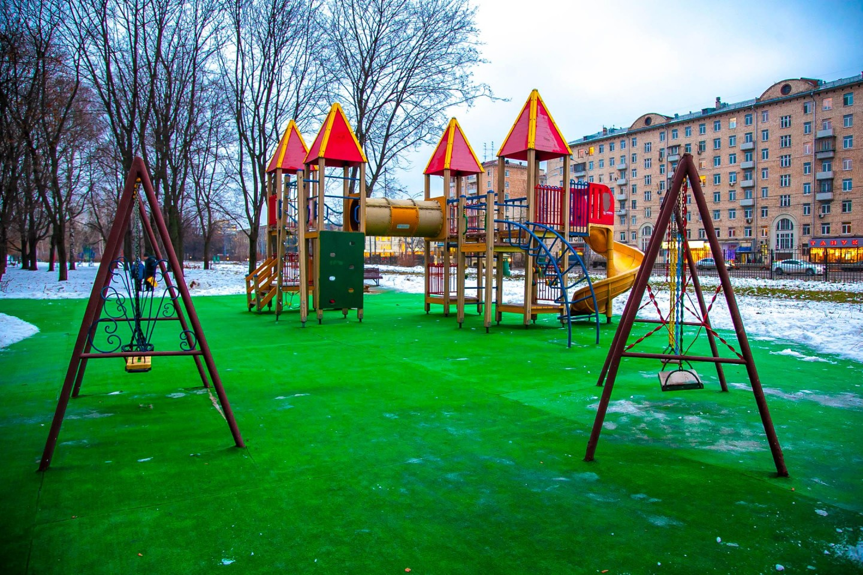 Детская площадка, Парк «Измайловский», Москва — ParkSeason
