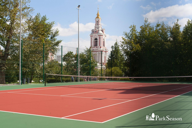 Теннисный корт, Сад им. Баумана, Москва — ParkSeason