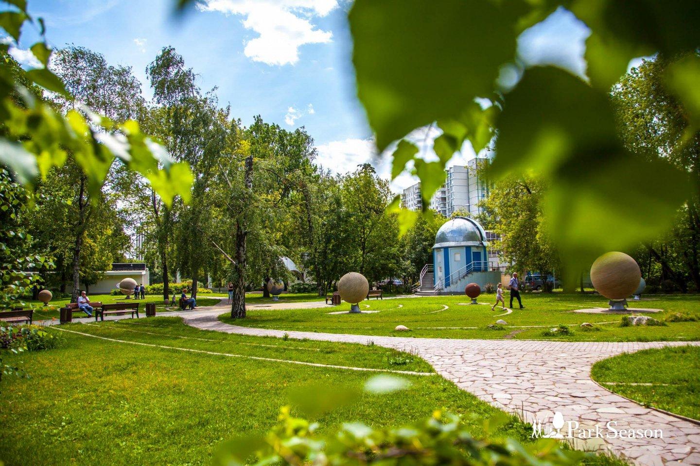 Сад астрономов (на реконструкции), Парк «Сокольники», Москва — ParkSeason