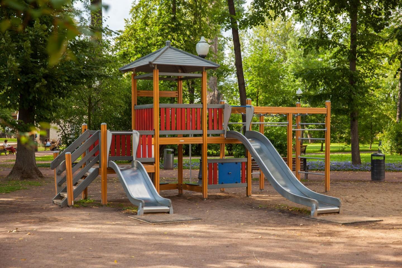 Детская площадка, Парк Горького, Москва — ParkSeason