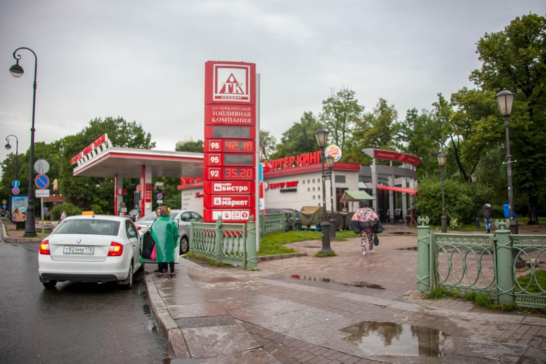 АЗС «Петербургская топливная компания» — ParkSeason