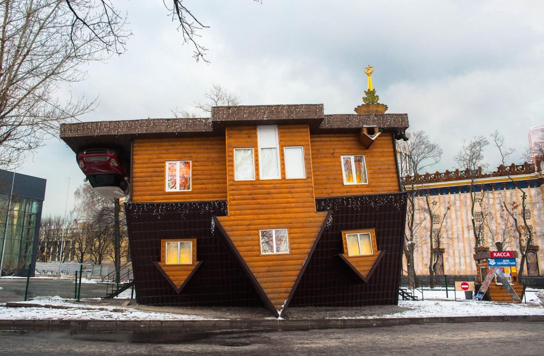 Дом-перевертыш, ВДНХ, Москва — ParkSeason