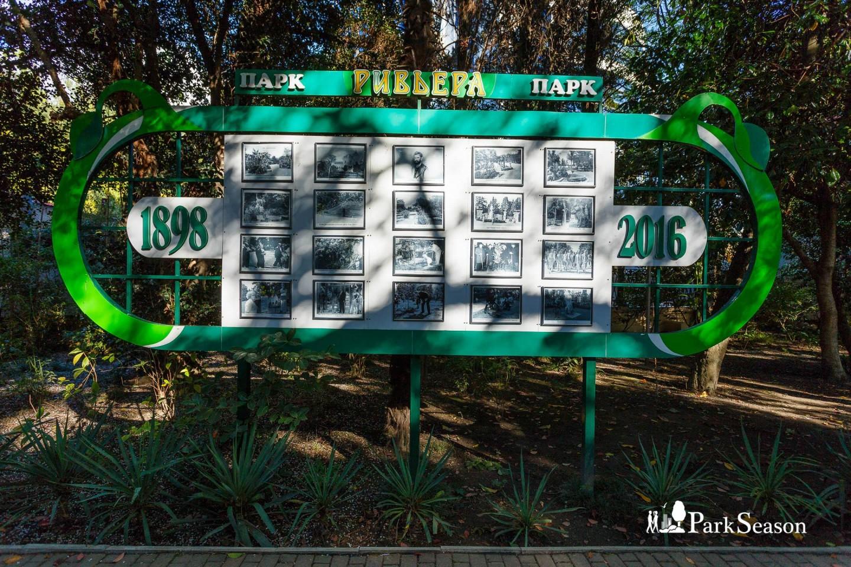 Стенд с историей парка — ParkSeason