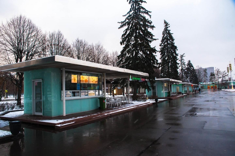 Киоск «Джованни пицца», ВДНХ, Москва — ParkSeason