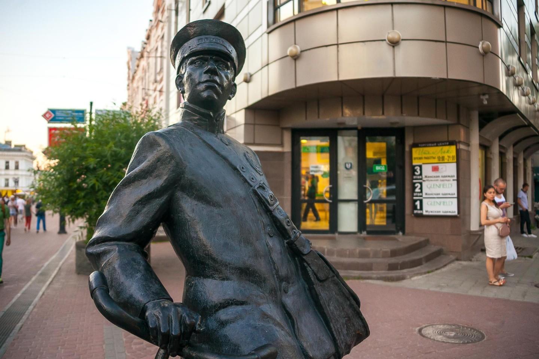Скульптура «Почтальон» — ParkSeason
