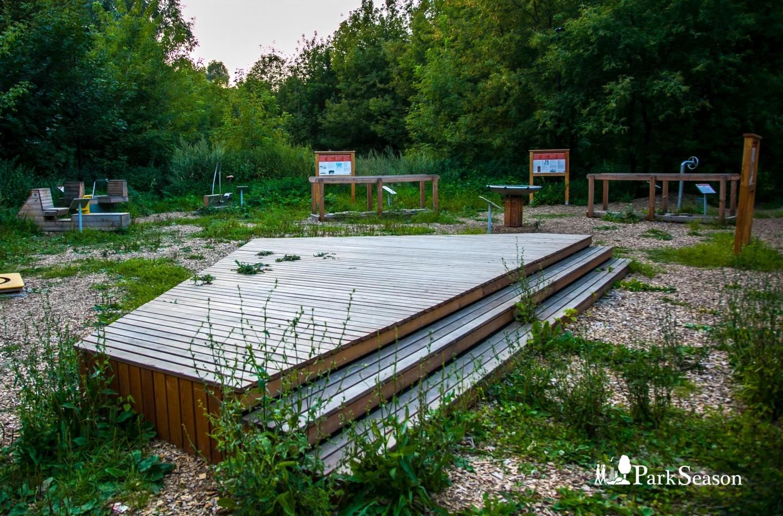 Площадка WorkOut детская, Воробьевы горы, Москва — ParkSeason