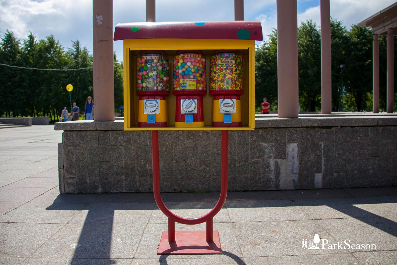 Автомат с жвачкой — ParkSeason