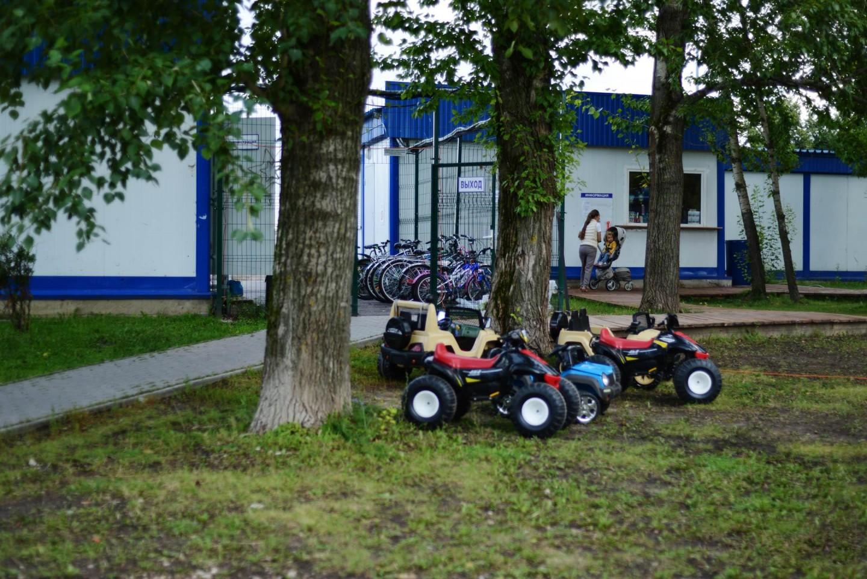 Пункт проката велосипедов, Парк 50-летия Октября, Москва — ParkSeason
