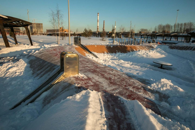 Детская площадка, Парк Тюфелева роща, Москва — ParkSeason