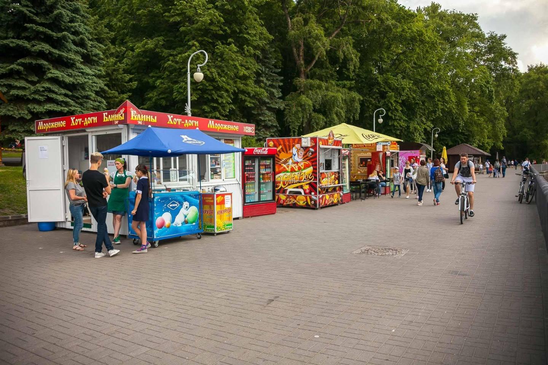 Киоск с едой и напитками — ParkSeason