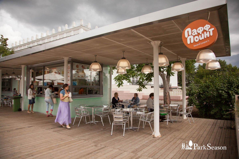 Кафе «Пафф поинт», ВДНХ, Москва — ParkSeason