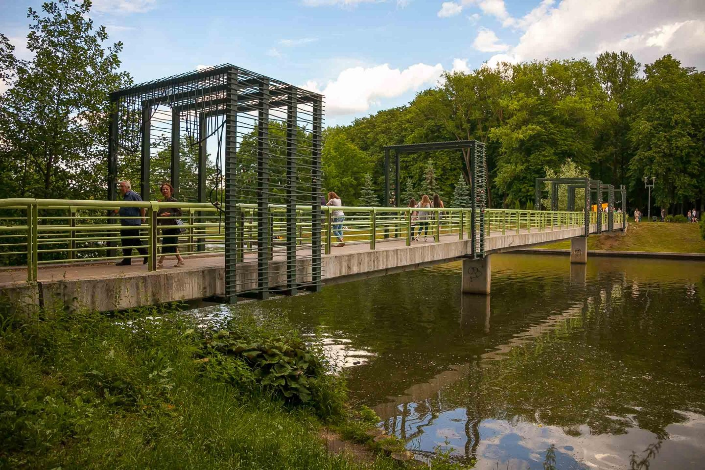 Мост на остров птиц — ParkSeason