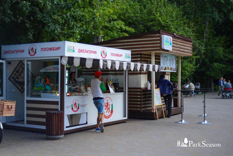 Киоск с уличной едой, Парк «Фили», Москва — ParkSeason